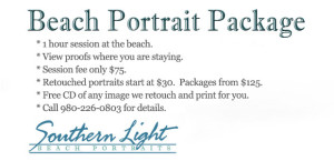 Beach Photo Portrait Package